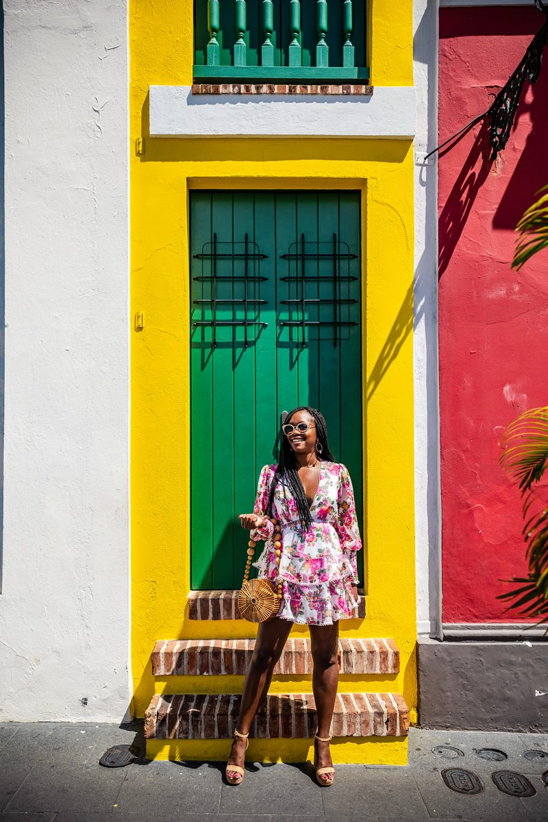 48 Hours in Old San Juan: A Travel Guide by popular Washington D.C. travel blogger, Alicia Tenise: image of Most Narrow House in Old San Juan