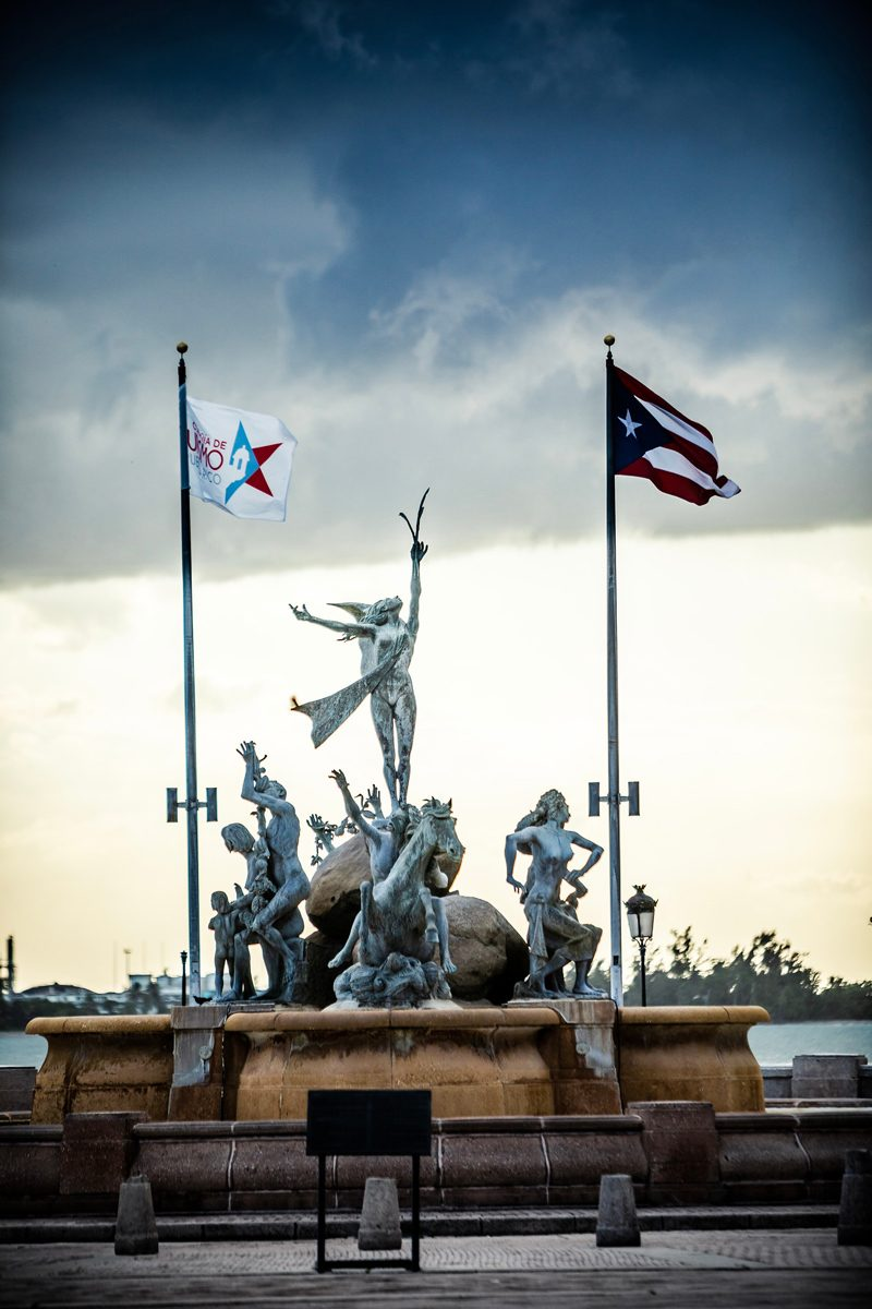 48 Hours in Old San Juan: A Travel Guide by popular Washington D.C. travel blogger, Alicia Tenise: image of Paseo la Princesa Puerto Rico