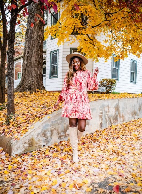 Free People Heartbeats Minidress, Vince Camuto Nestel Knee High Boot