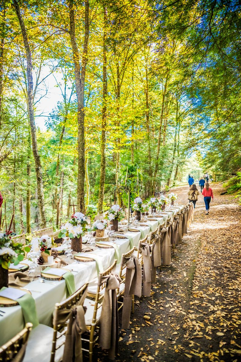 Fall Weekend Getaway in West Virginia featured by top US travel blogger, Alicia Tenise: Fall Destination Unknown Contest - Lunch at Blackwater Falls STate Park