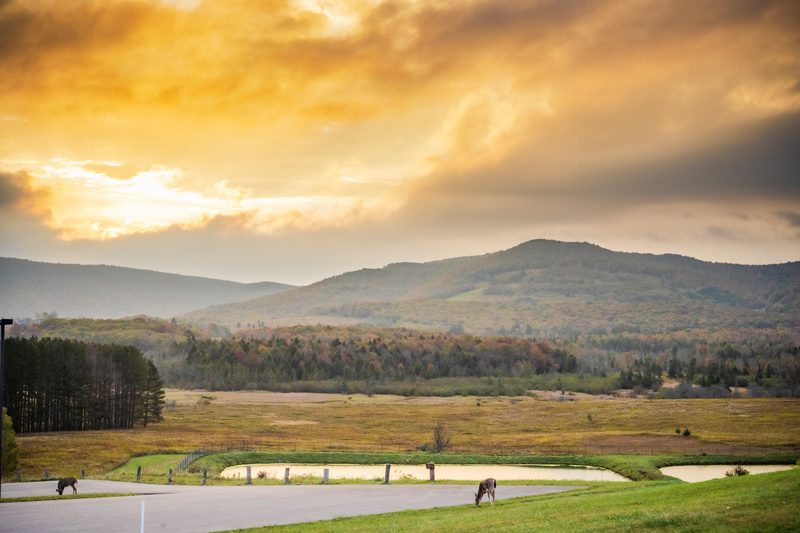 Fall Weekend Getaway in West Virginia featured by top US travel blogger, Alicia Tenise: Fall Destination Unknown Contest - Canaan Valley Resort