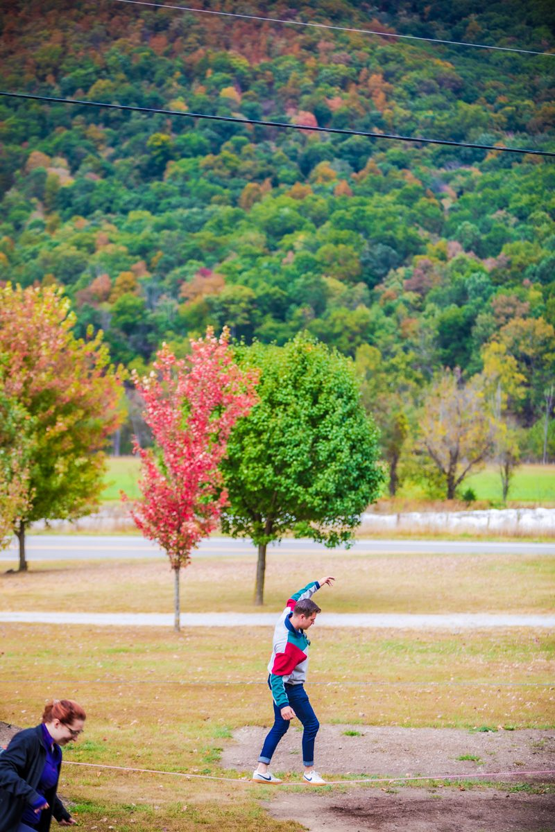 Fall Weekend Getaway in West Virginia featured by top US travel blogger, Alicia Tenise: Fall Destination Unknown Contest - NROCKS Outdoor Adventure