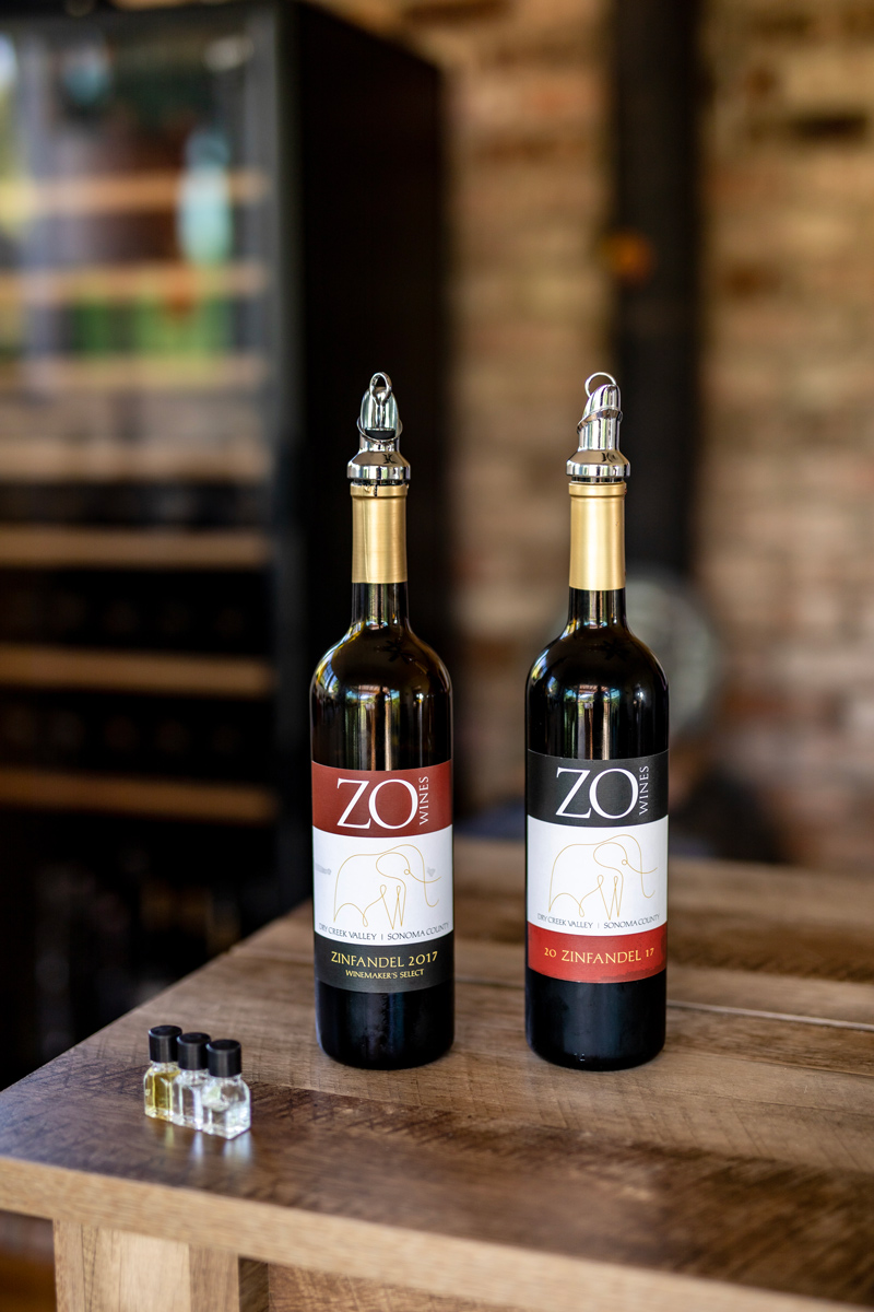 The Best Wines for Thanksgiving Dinner by popular Washington D.C. lifestyle blogger, Alicia Tenise: image of two bottles of Zo Wines.