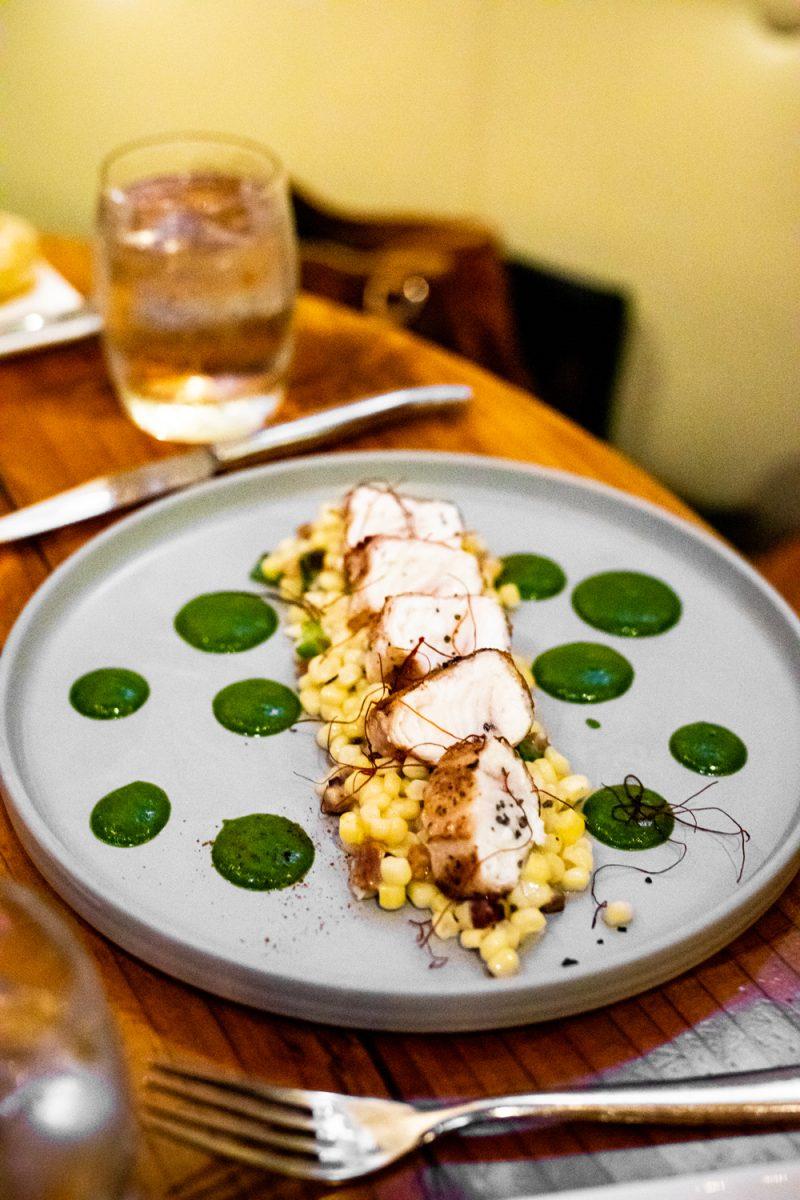 Valette Restaurant Healdsburg CA | Sonoma Dry Creek Valley by popular US travel blogger, Alicia Tenise: image of food at Valette Restaurant.