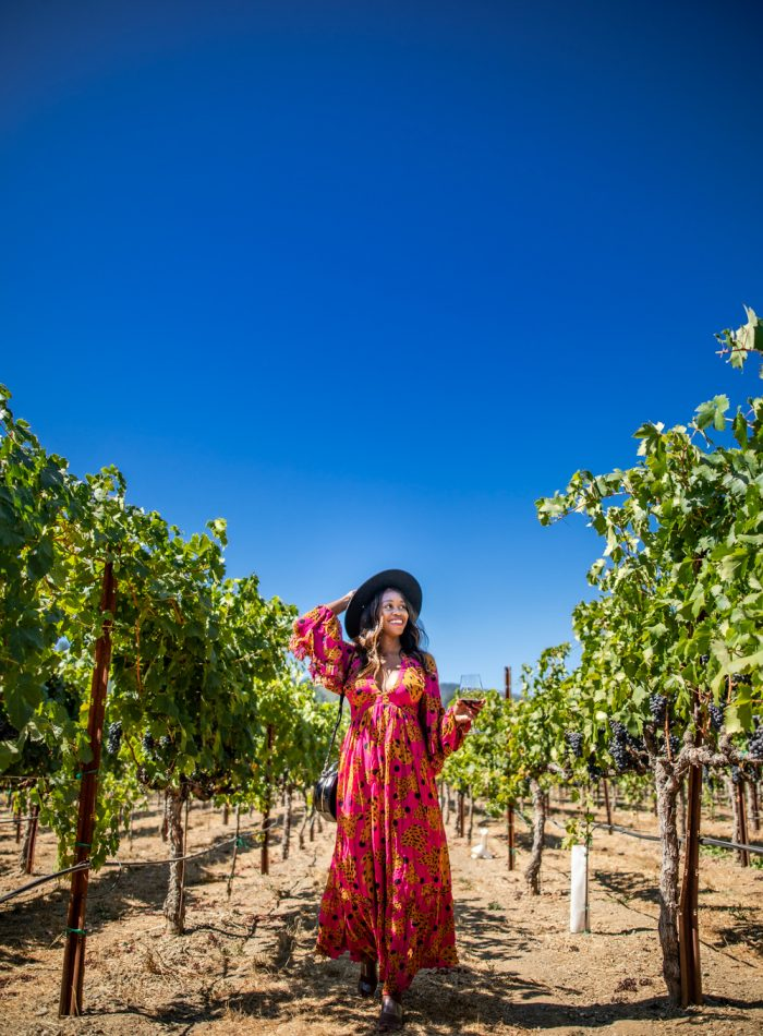 Alicia Tenise in Dry Creek Valley