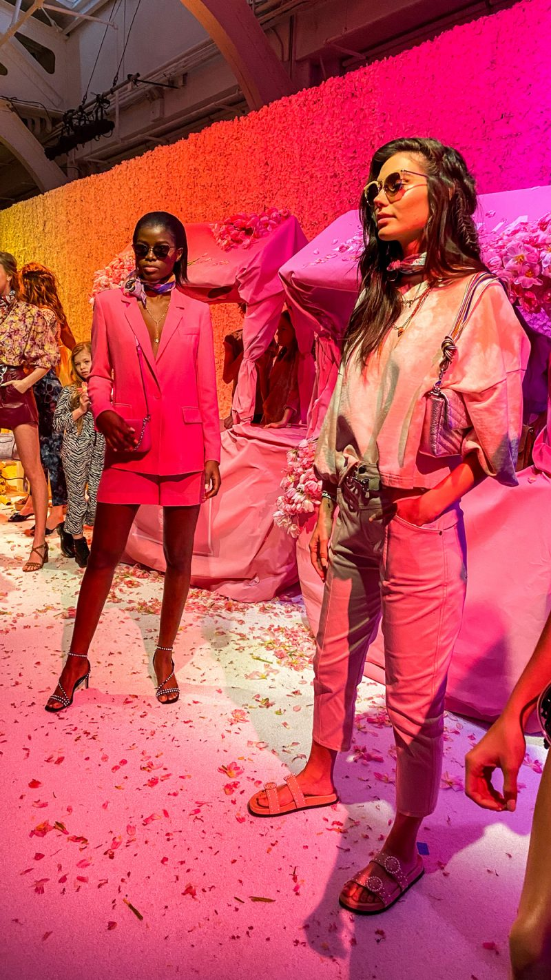 Rebecca Minkoff Spring 2020 | NYFW 2020 by popular DC fashion blogger, Alicia Tenise: image of models wearing Rebecca Minkoff clothing.