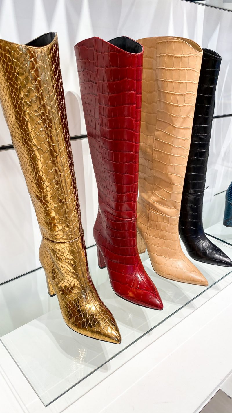 Marc Fisher Fall 2020 - Western Boot Trend | NYFW 2020 by popular DC fashion blogger, Alicia Tenise: image of Marc Fisher boots.