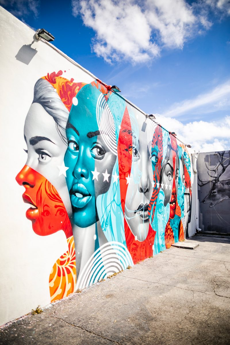 Wynwood Walls | Things to do in Miami in the Spring: image of Wynwood Miami walls.