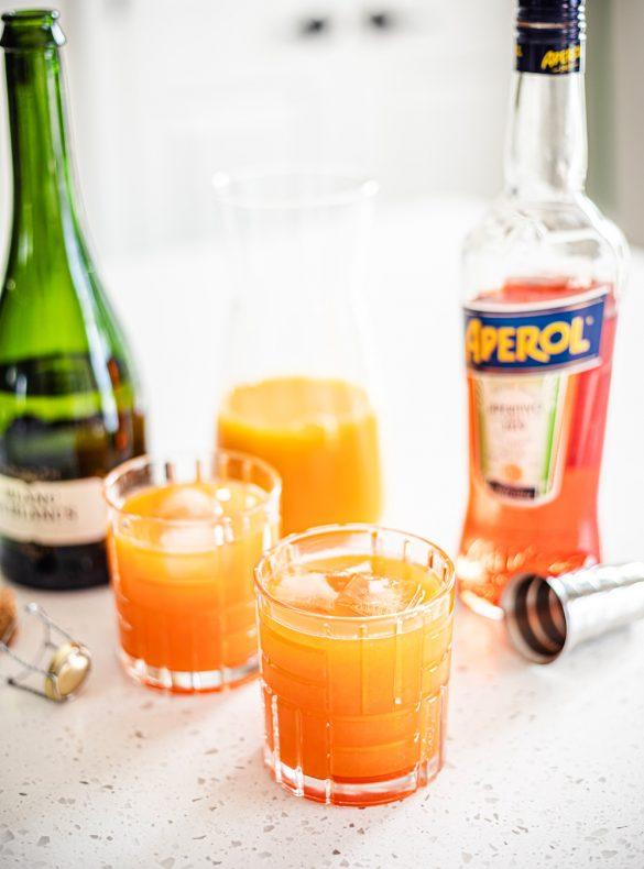 Aperol Tangerine Mimosa Recipe - Aperol Cocktails