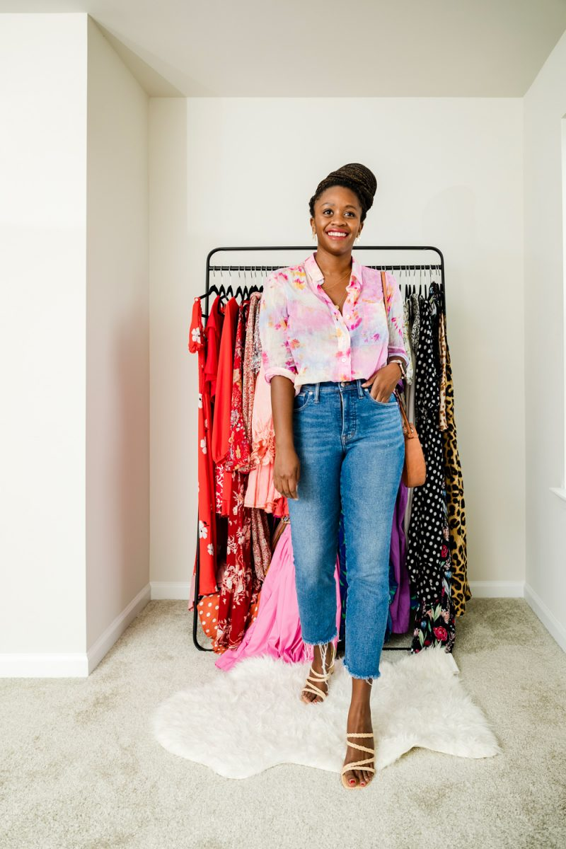 How to Style a Tie-Dye Top
