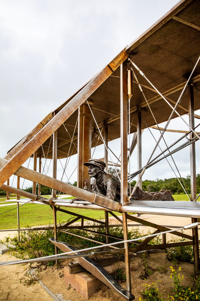 Wright Brothers National Memorial | Things to do in the Outer Banks by popular D.C. travel blogger, Alicia Tenise: image of a Wright Brothers national memorial.
