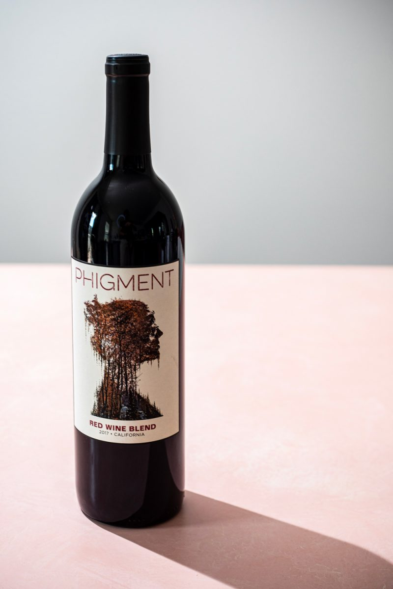 Trader Joe's Wines by popular D.C. lifestyle blogger, Alicia Tenise: image of Trader Joe's Phigment wine.