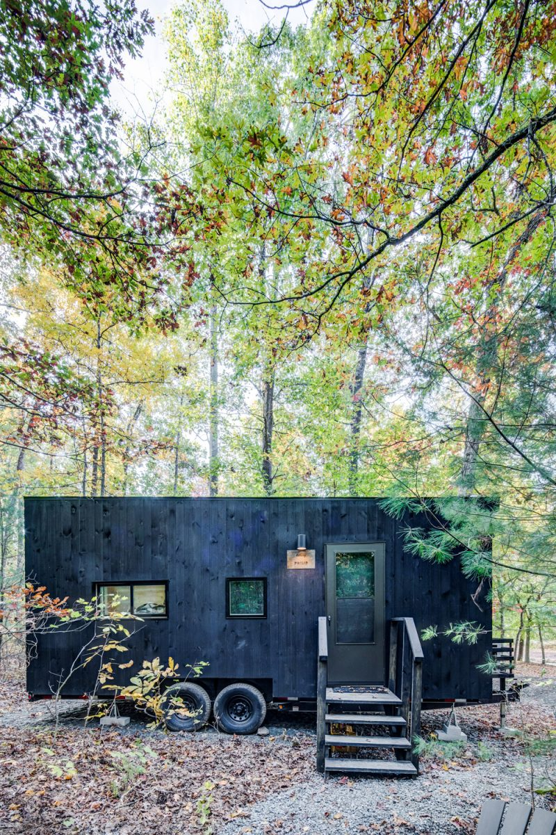 Getaway House DC  Road Trip Ideas by popular D.C. travel blogger, Alicia Tenise: image of the Getaway House near D.C.