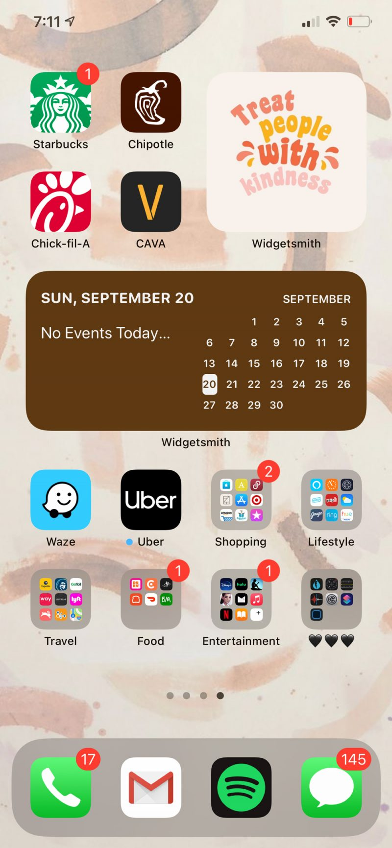 How to Customize Widgets on iPhone by popular D.C. lifestyle blogger, Alicia Tenise: image of a iPhone screen.