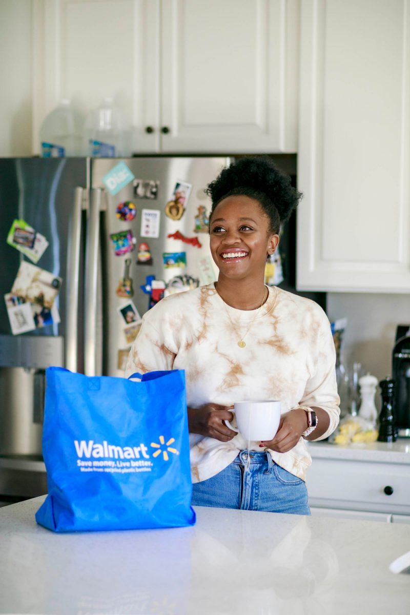 Walmart+ review featured by top VA life and style blogger, Alicia Tenise