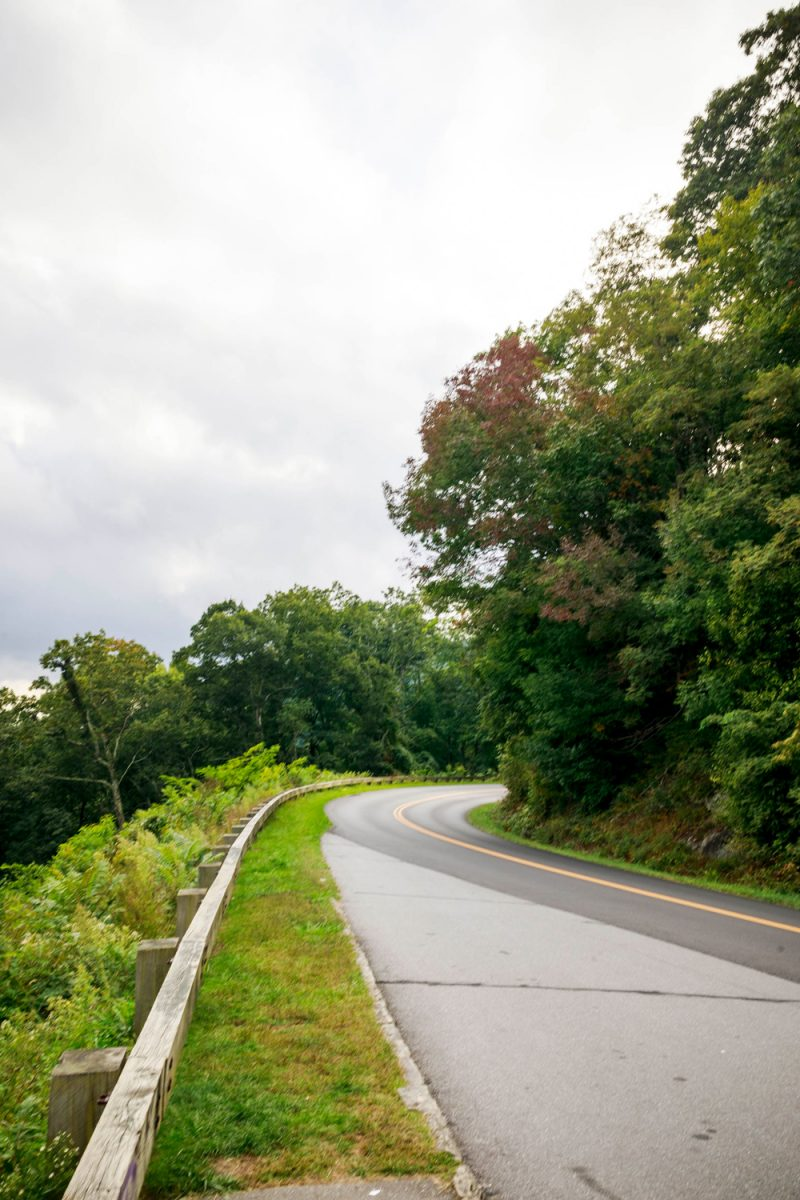 Things to do in Asheville NC by popular D.C. travel blogger, Alicia Tenise: image of the Blue Ridge Parkway.