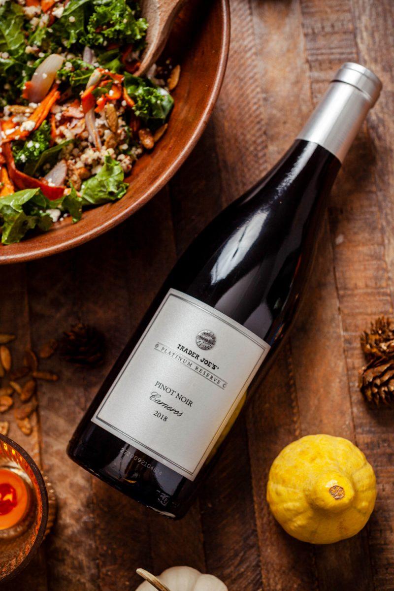 , Trader Joe's Platinum Reserve Pinot Noir Carneros 2018