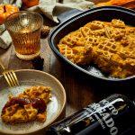 Trader Joe's Pumpkin Waffle Bread Pudding Recipe