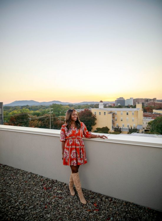 Quirk Hotel Charlottesville Rooftop