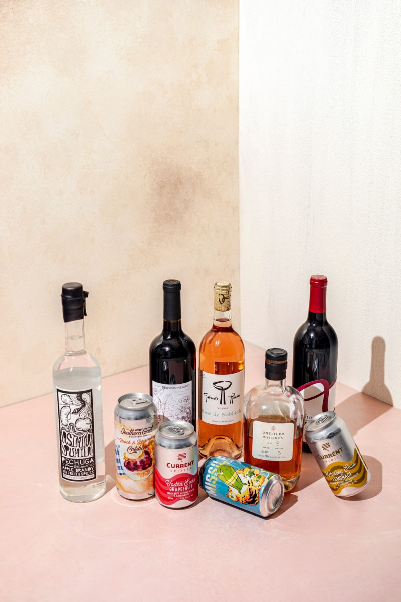 Gift Ideas for Men Who Have Everything by popular D.C. life and style blogger, Alicia Tenise: image of various alcoholic drinks.