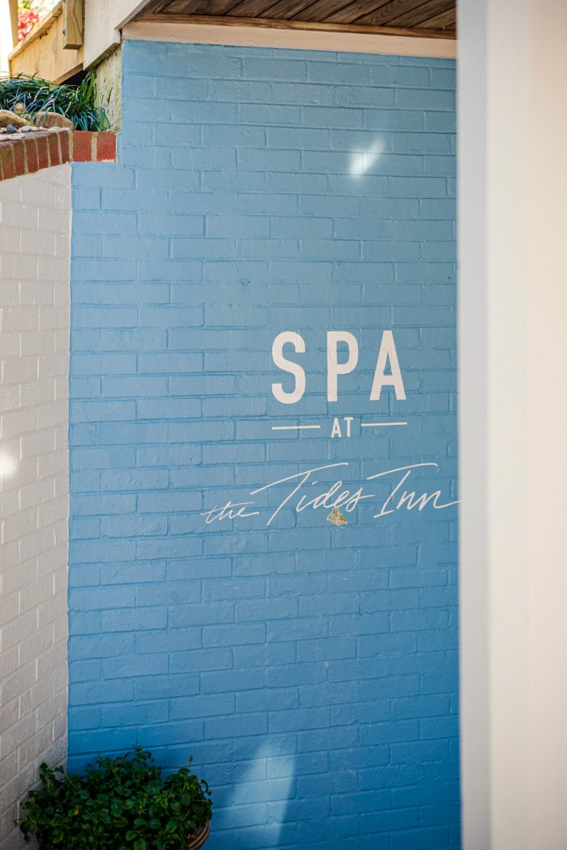 The Spa at the Tides Inn |Tides Inn in Irvington by popular D.C. travel blogger, Alicia Tenise: image of The Spa at the Tides Inn.