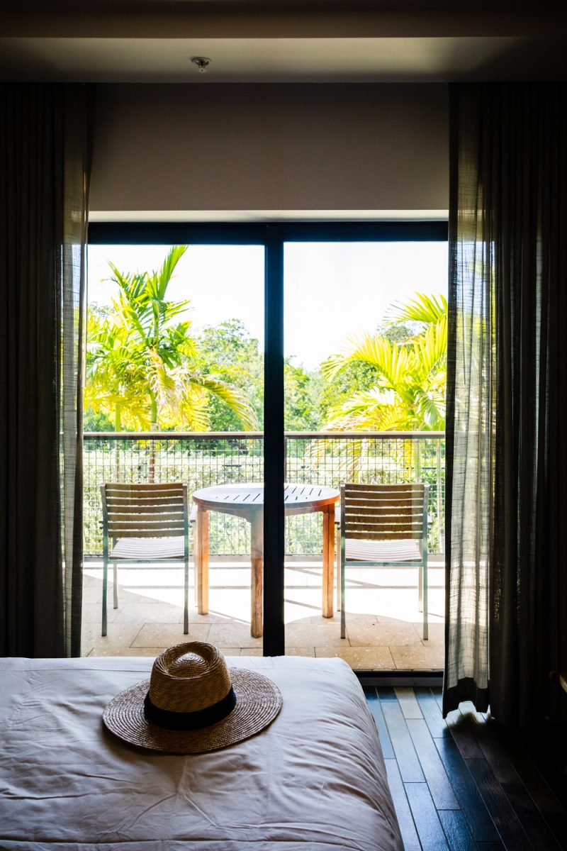 The Perry Hotel Key West |Florida Keys Road Trip by popular D.C. travel blogger, Alicia Tenise: image of a hotel room at the Perry Hotel in Key West.
