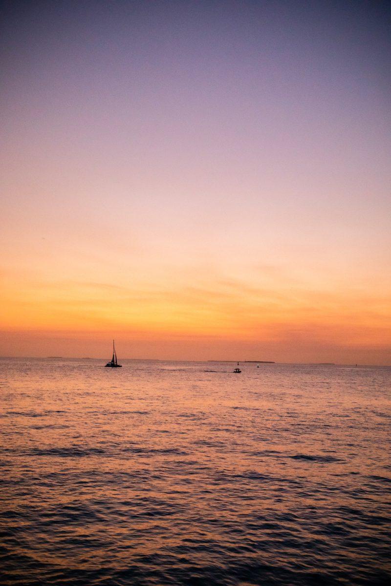 Key West Marina |Florida Keys Road Trip by popular D.C. travel blogger, Alicia Tenise: image of sail boats at the Key West marina.