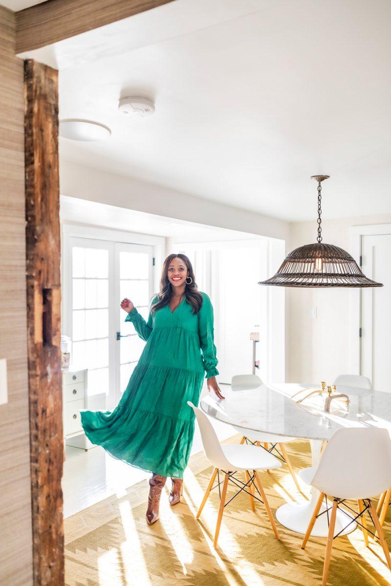 White Moose Inn Washington VA, Wendy Tiered Maxi Dress