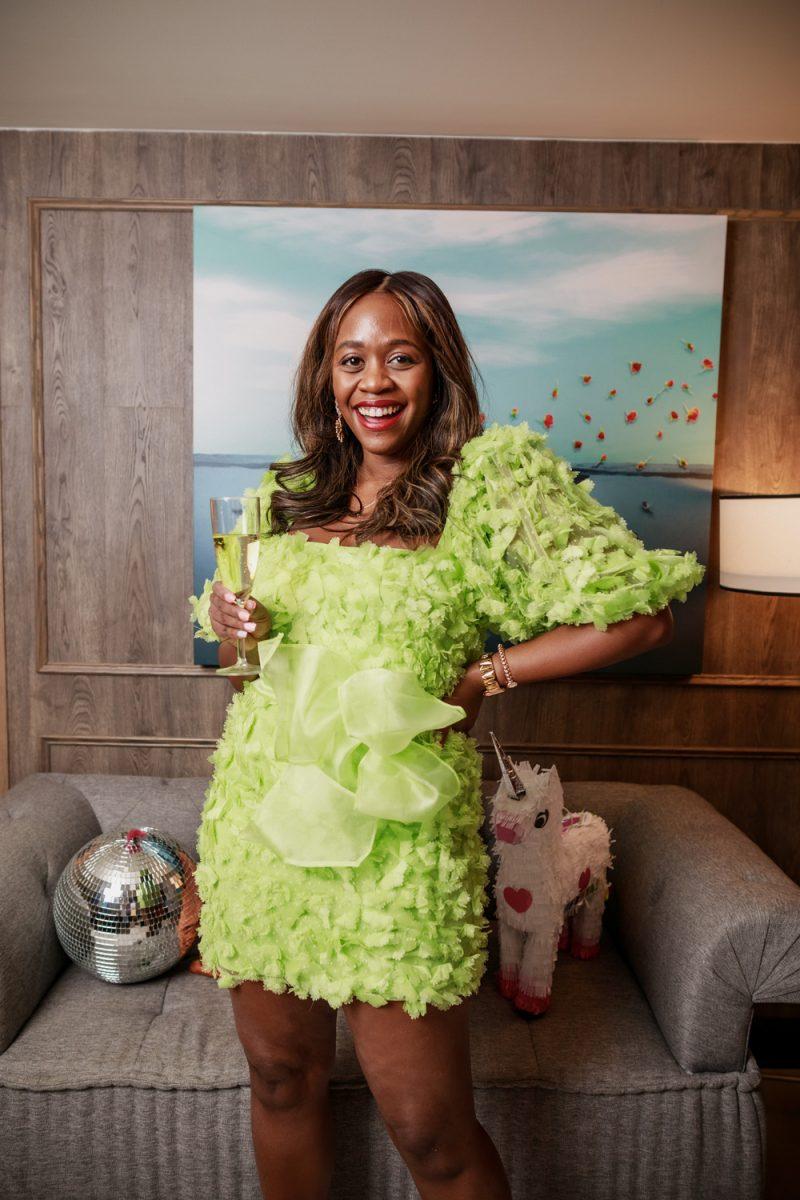 ADD TO FAVORITES ASOS EDITION 3D floral organza mini dress