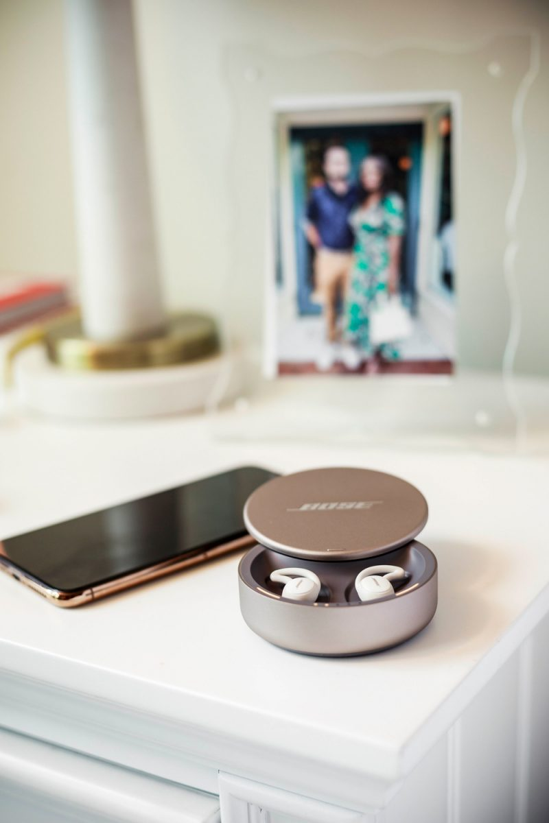 Bose Sleepbuds 2 by popular D.C. lifestyle blogger, Alicia Tenise: image of Bose Sleepbuds 2.