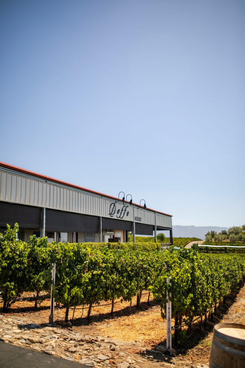 3 Wineries to Visit in the Northern San Diego Area for the Red Wine Lover featured by top LA travel blogger, Alicia Tenise: Doffo Winery Temecula | San Diego Wineries by popular LA lifestyle blogger, Alicia Tenise: image of Doffo Wineries.
