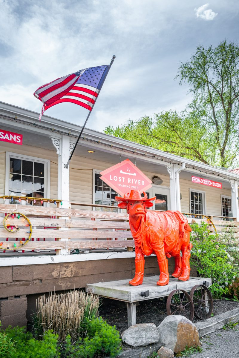 Lost River Trading Post West Virginia    Louisville KY Road Trip by popular LA travel blogger, Alicia Tenise: image of Lost River Trading Post.