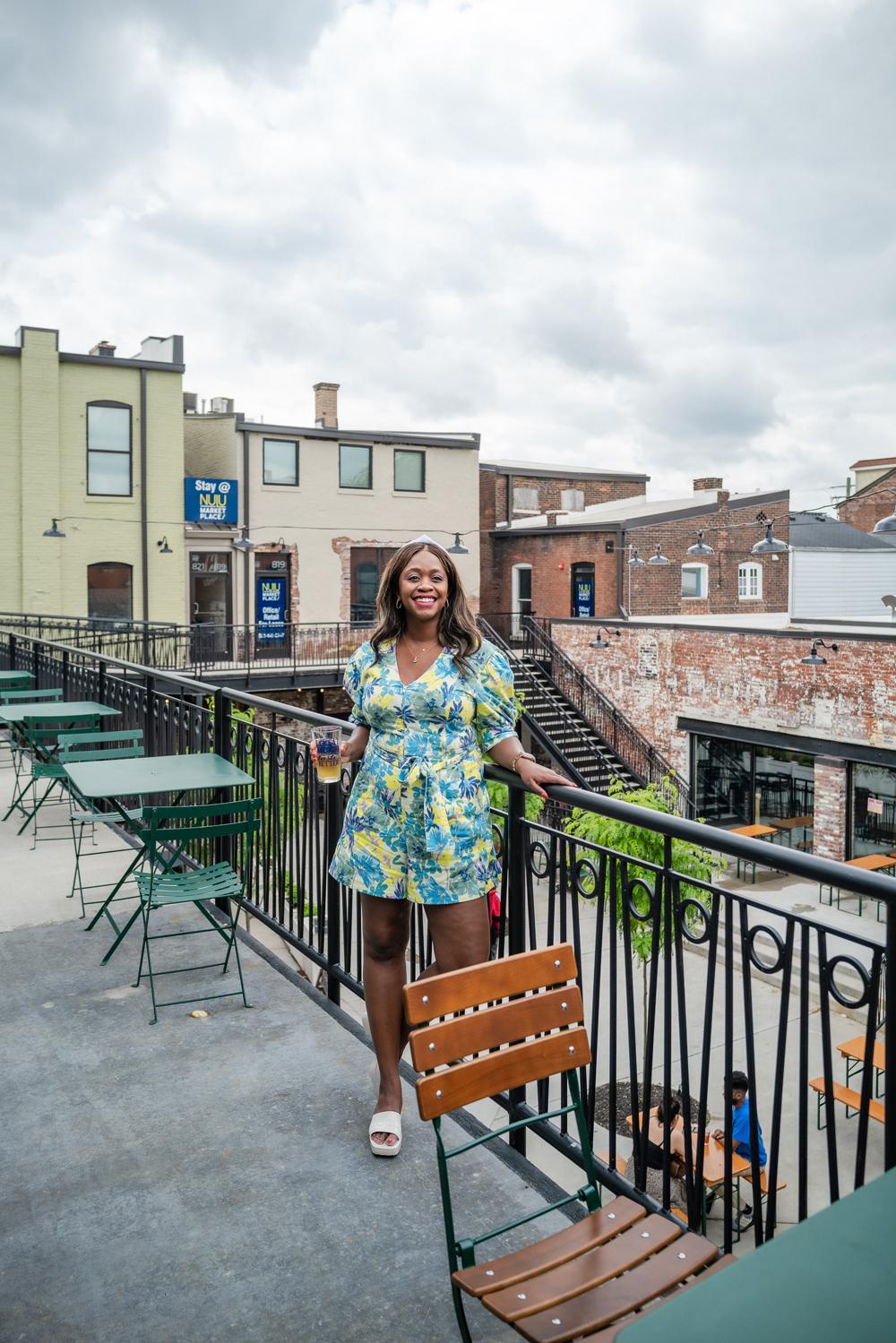 Louisville Kentucky, Nulu Marketplace, Tanya Taylor Becky Romper