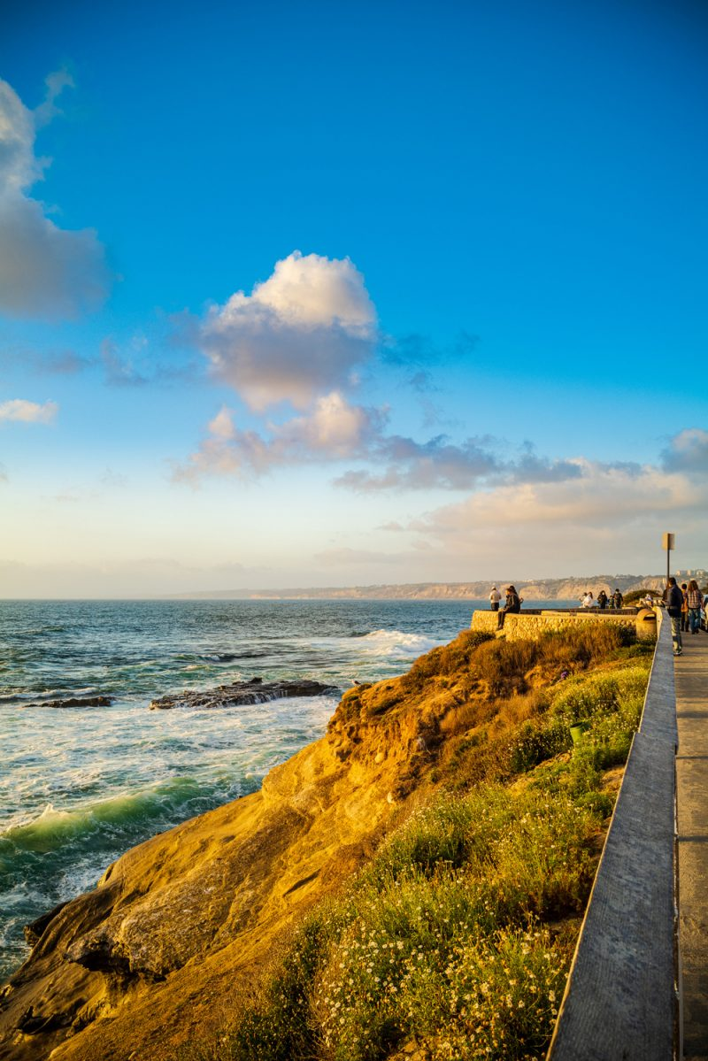 Packing List by popular LA travel blogger, Alicia Tenise: image of the San Diego, CA coast.