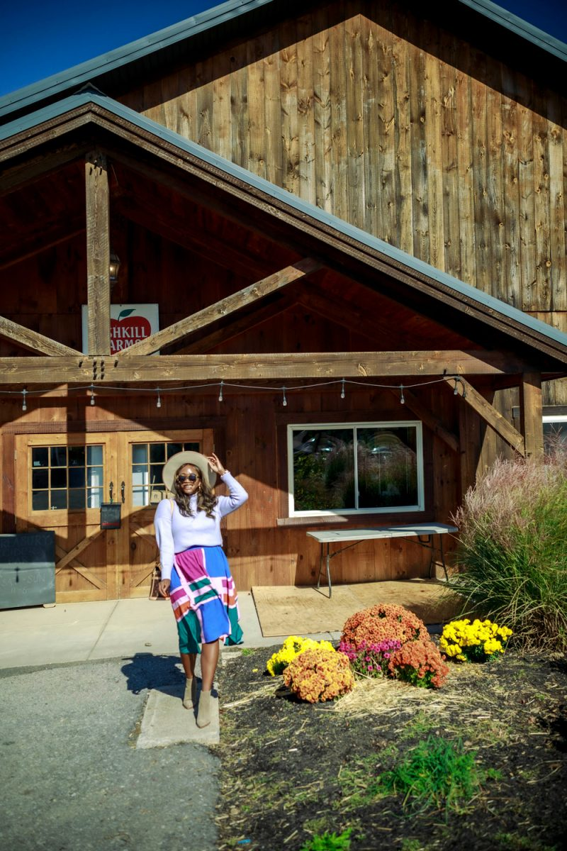 Fall Travel Bucket List featured by top US travel blogger, Alicia Tenise: Fishkill Farms