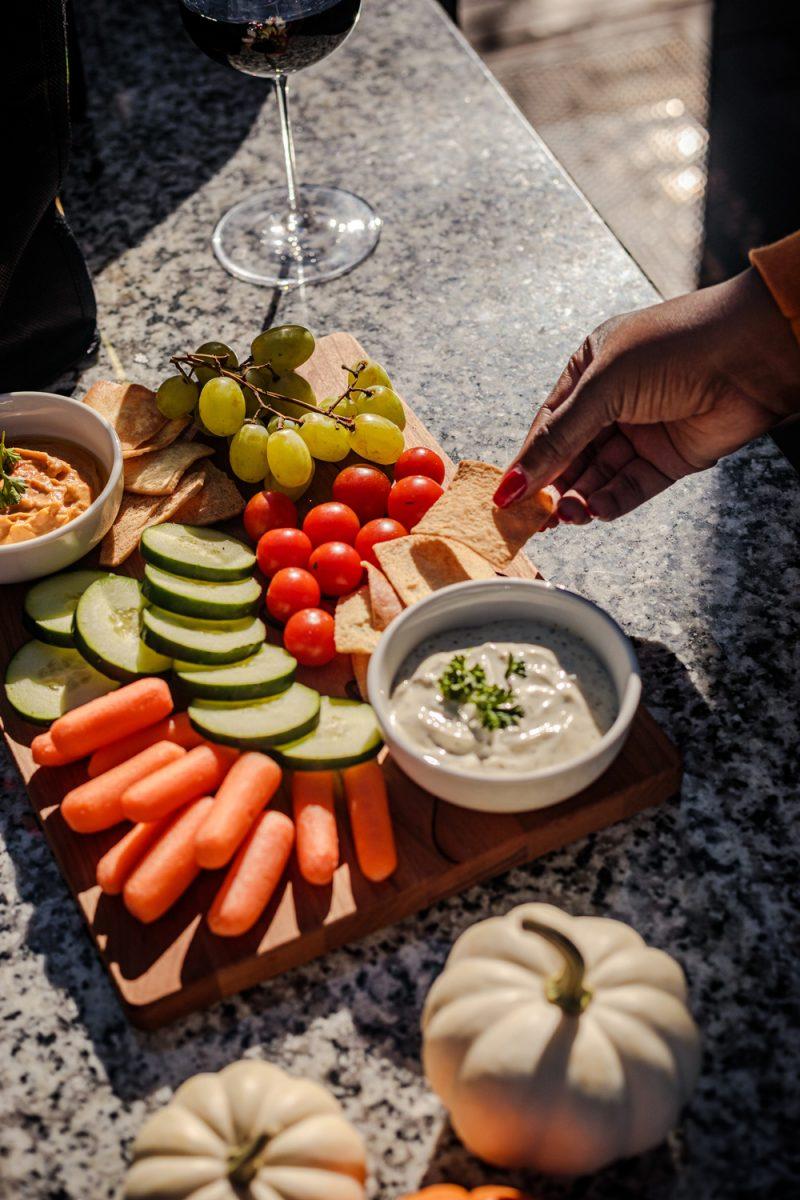 Mediterranean Mezze Platter essentials featured by top LA lifestyle blogger, Alicia Tenise